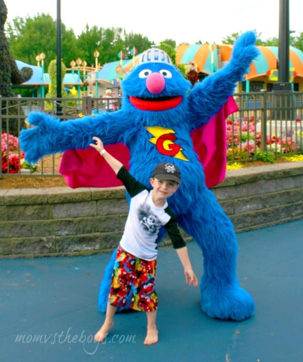 super grover pose