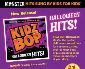 Kidz Bop Halloween Hits! {Giveaway}
