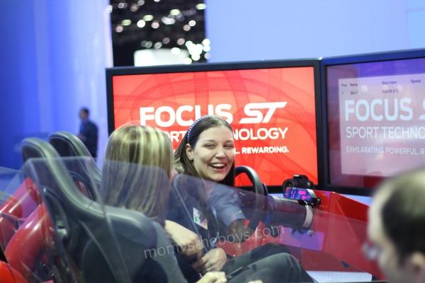 Ford NAIAS simulator