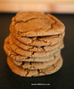 Peanut-Better Gingersnap Cookies