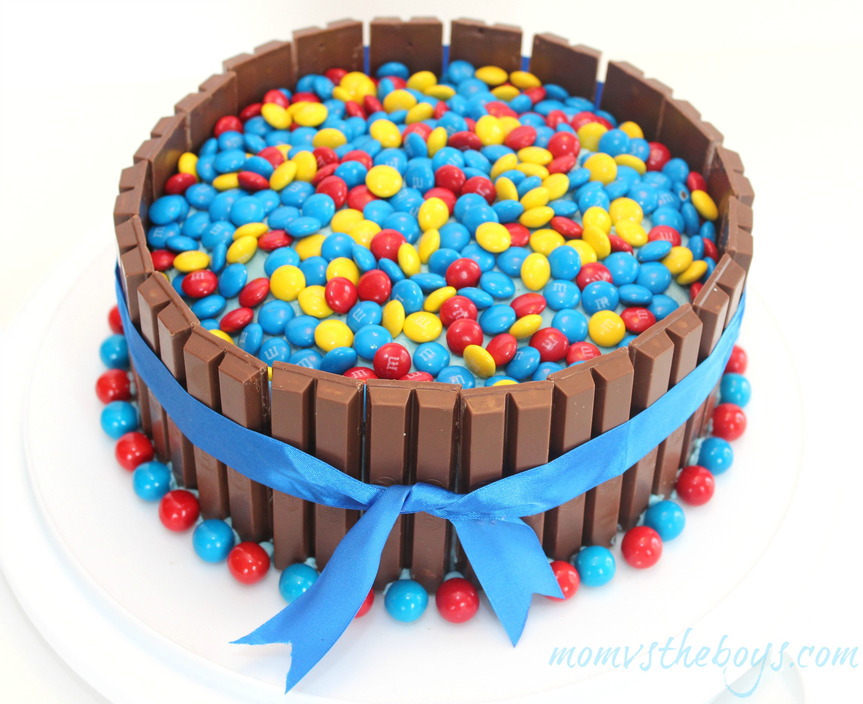Kit Kat Birthday Cake the boys version