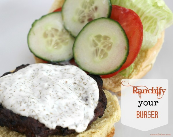 Ranch Garden Burger
