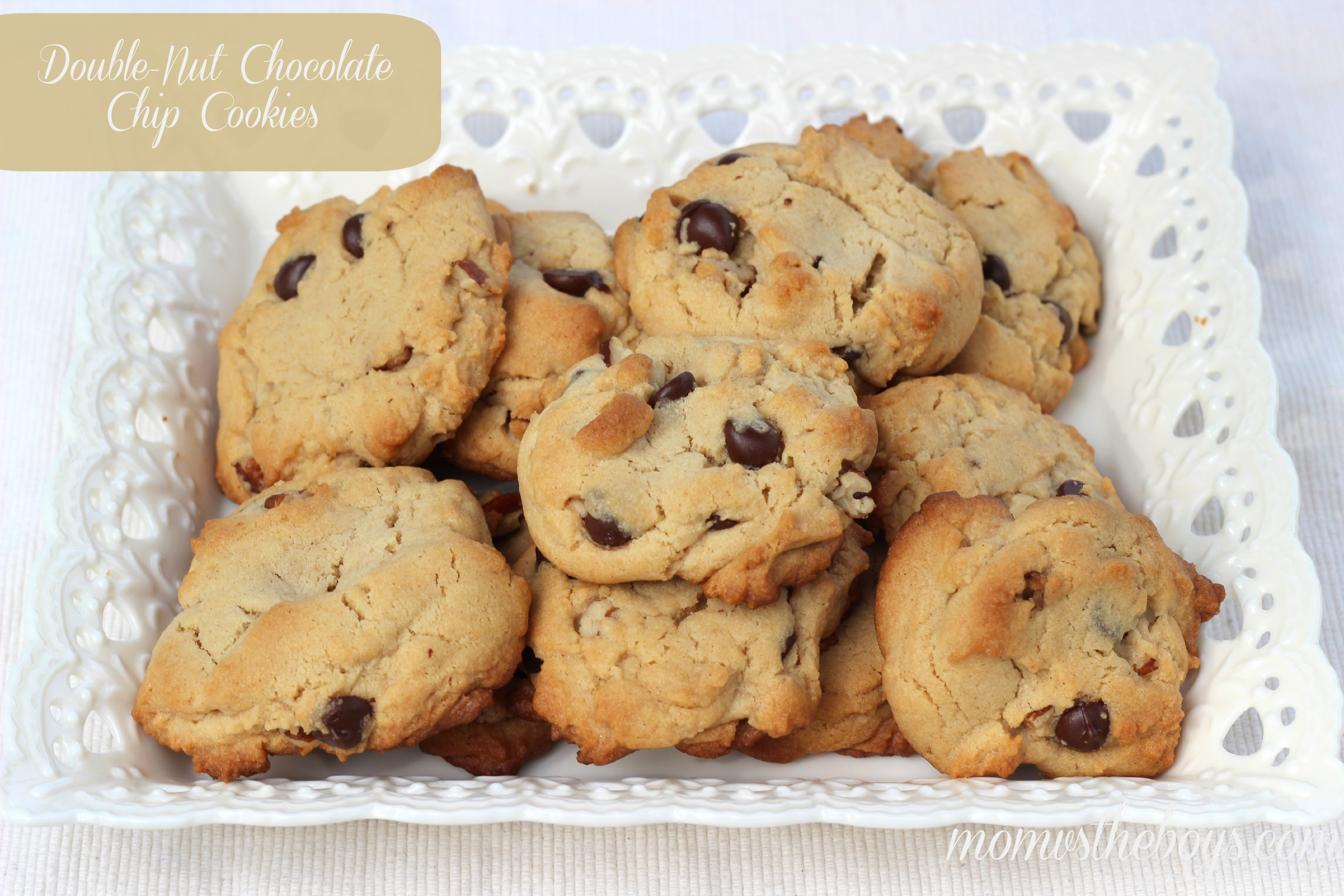 If you're the same, try these delicious Double-Nut Cookies ...