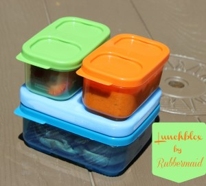 Rubbermaid LunchBlox Containers for Back-to-School {Giveaway}