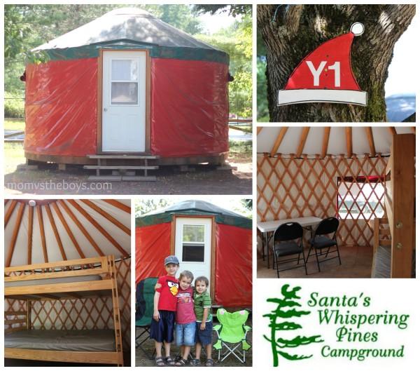 santas whispering pines campground
