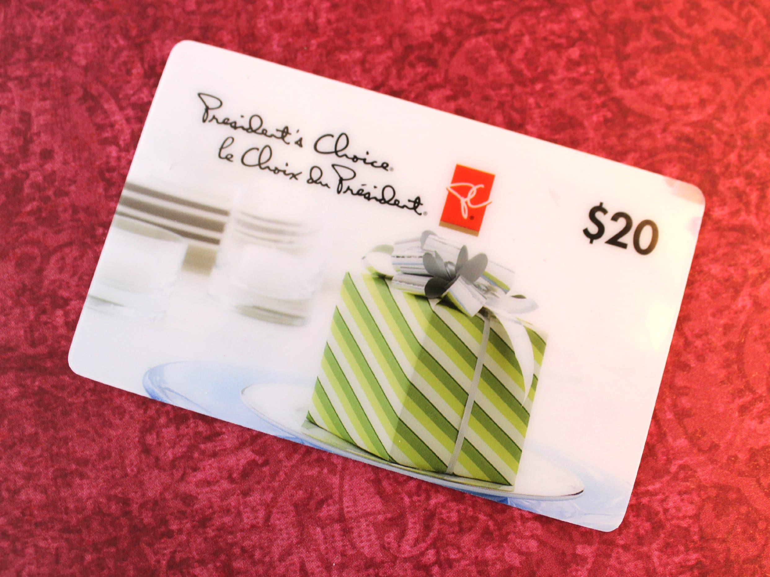 Check Presidents Choice Gift Card Balance online, over the phone or in store. Gift card merchant Presidents Choice provides you a gift card balance check, the information is below for this gift card .