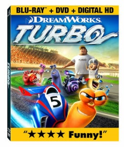 Turbo races onto Blu-ray in time for the holidays! #TurboFastFun {Giveaway}
