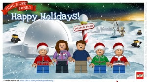 Turn your family into LEGO Minifigures for the Holidays!