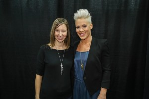 Meeting PINK with COVERGIRL