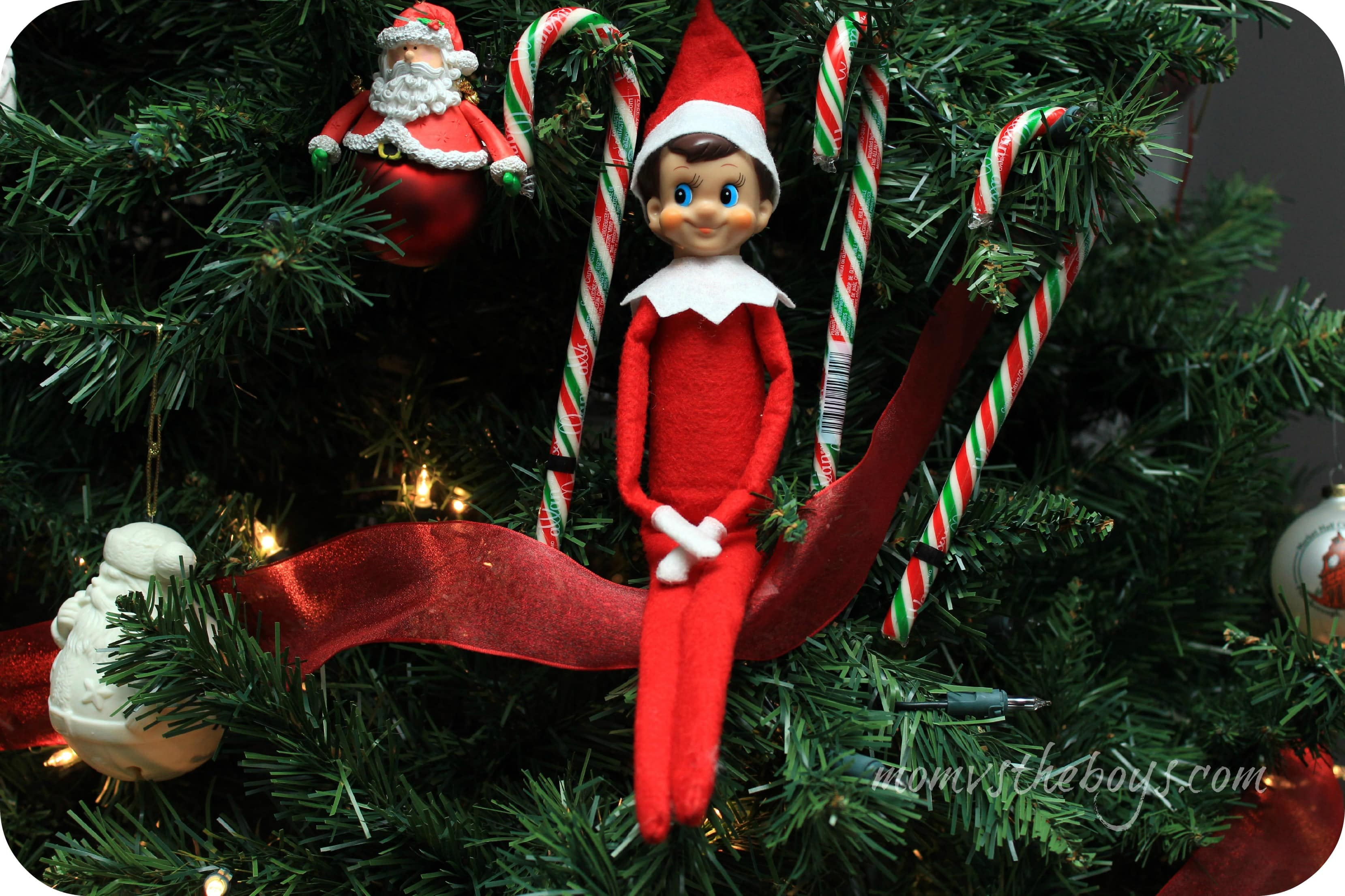 Elf On The Shelf Ideas Mom Vs The Boys