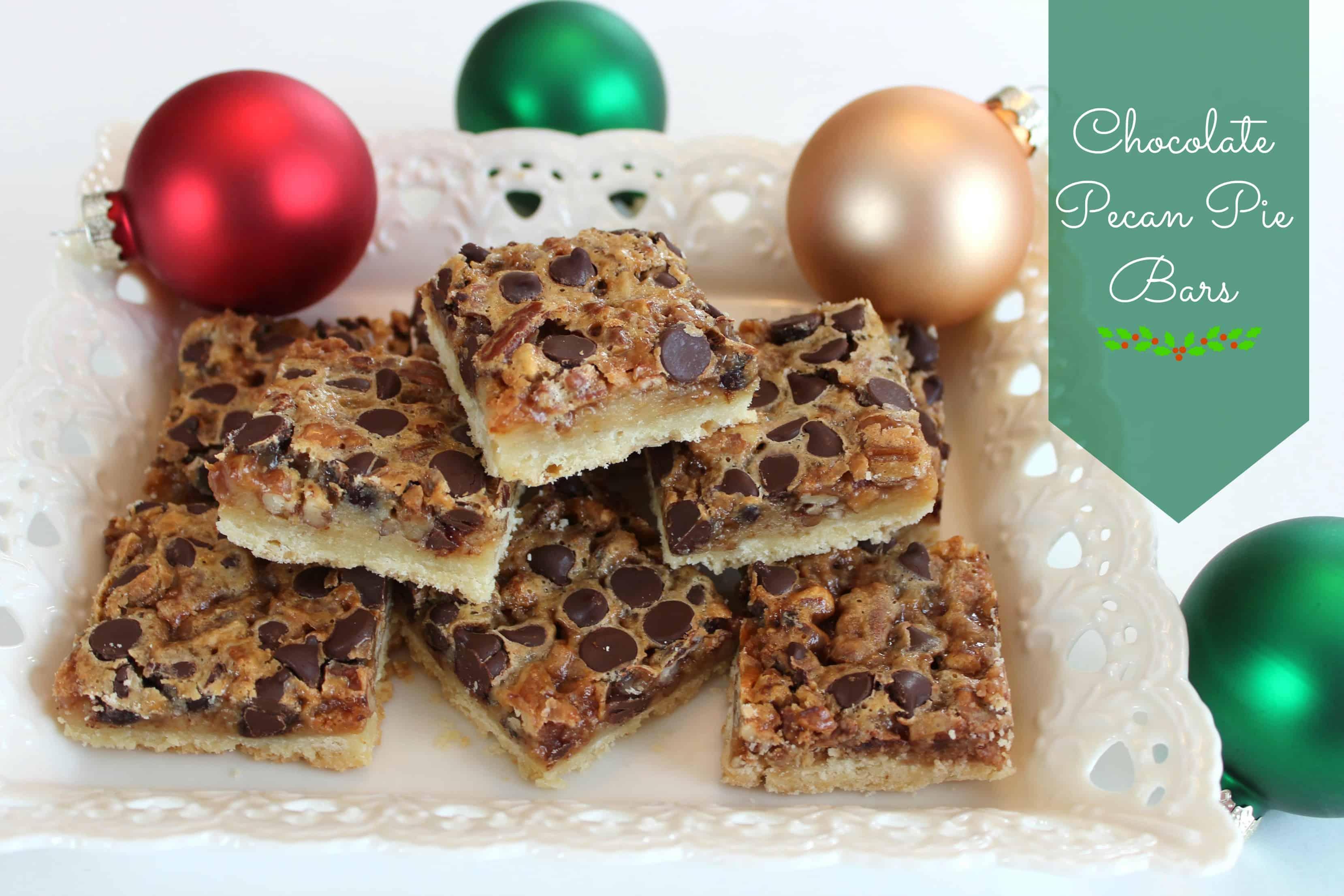 Pecan-Chocolate Squares Recipes — Dishmaps