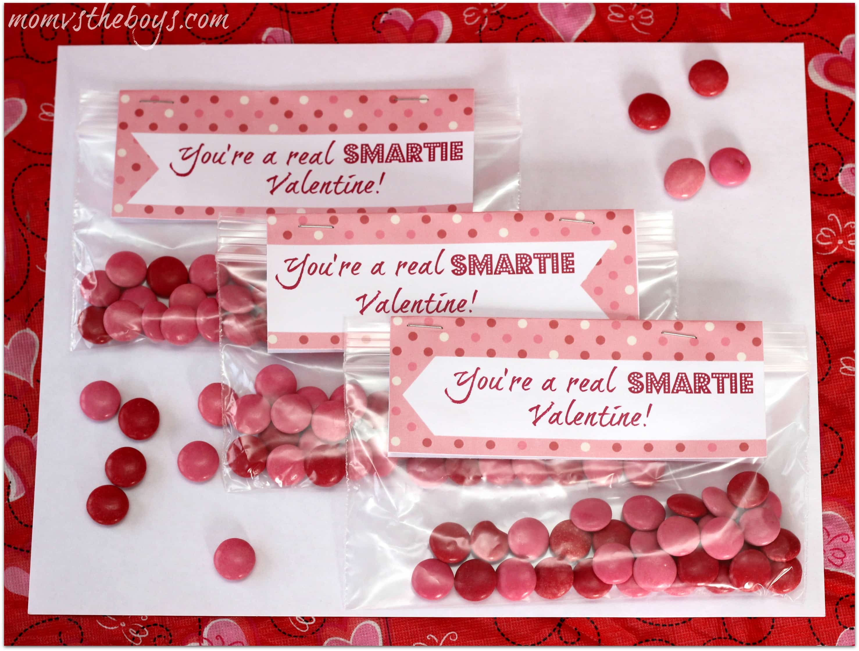 smartie valentine printable. Smarties Valentine Printable   Mom vs the Boys