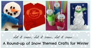 Let is Snow, Let it Snow, Let it Snow…. a round up of Snow themed crafts