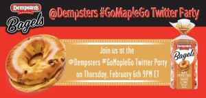 @Dempsters #GoMapleGo Twitter Party February 6 at 9pm EST