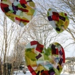 Heart Shaped Sun Catchers