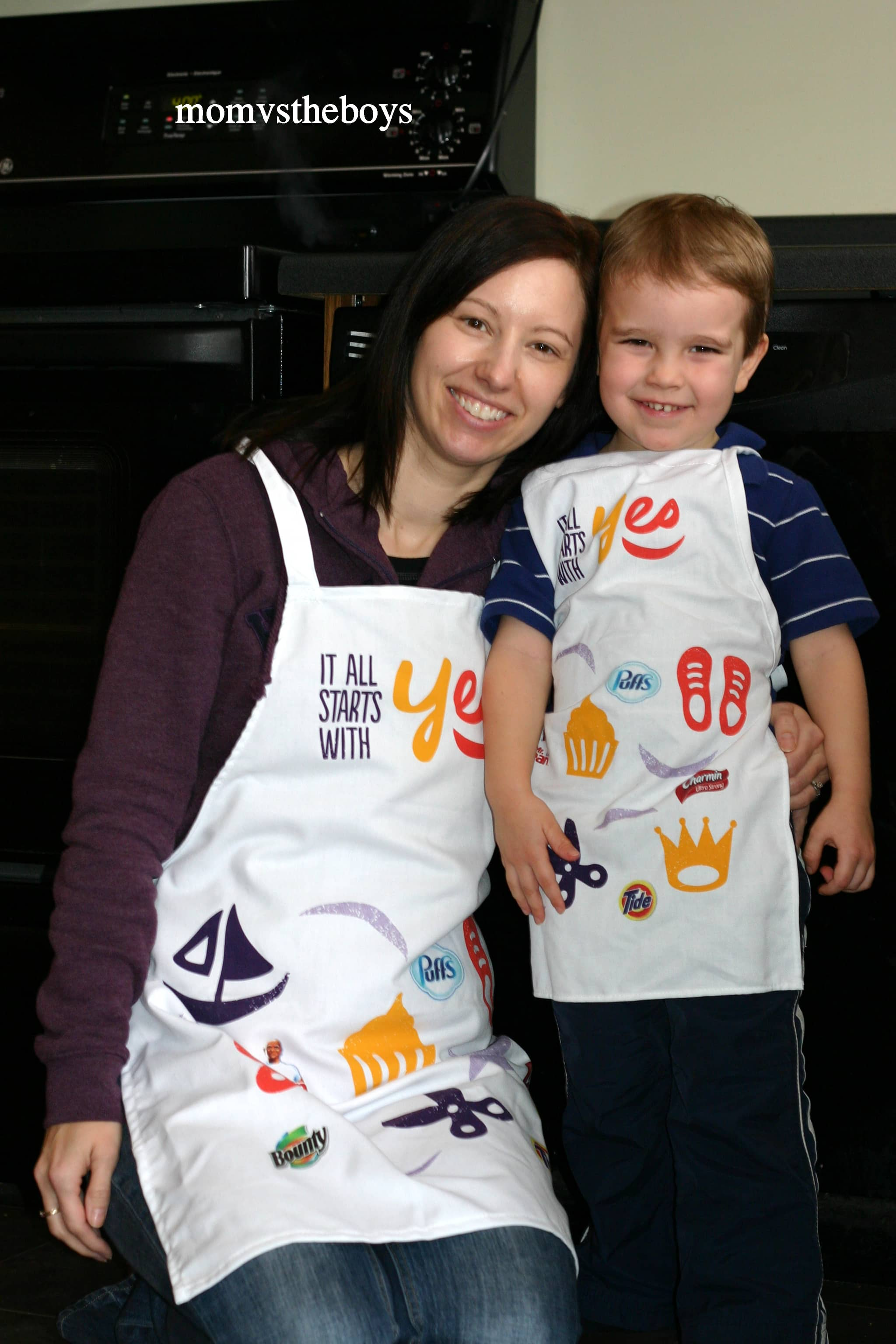 yes aprons. 5 Ways to keep your Boys busy this Winter   Mom vs the Boys