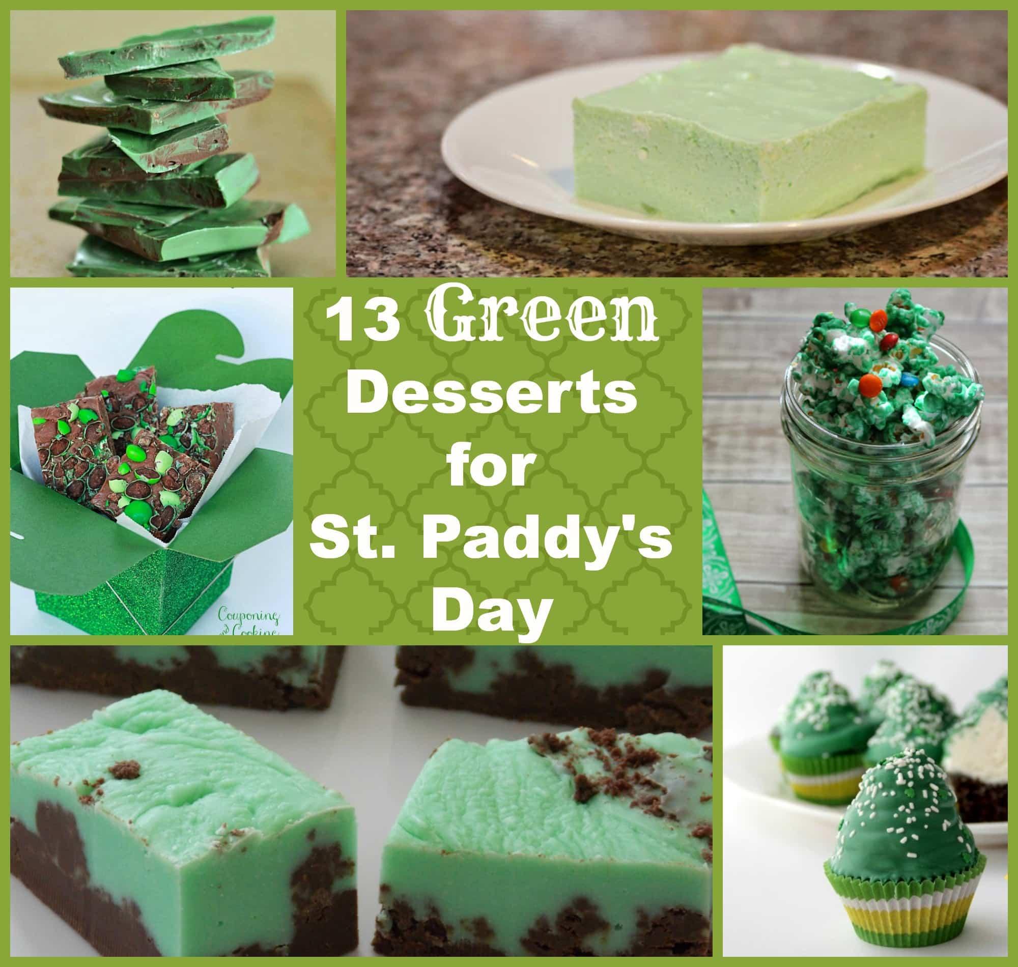 Green Desserts