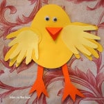 Handprint Chick