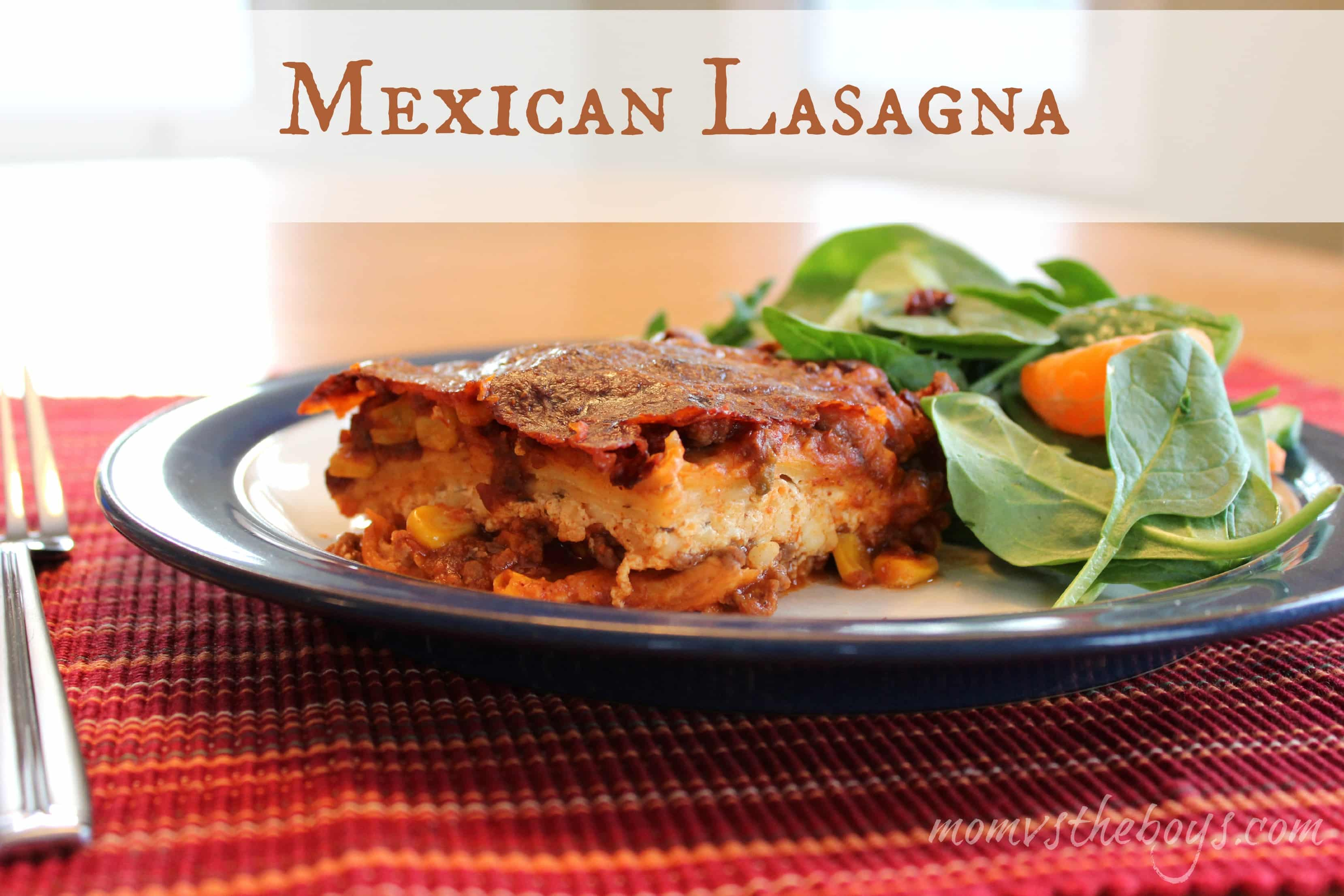 Mexican-Style Lasagna Recipe — Dishmaps