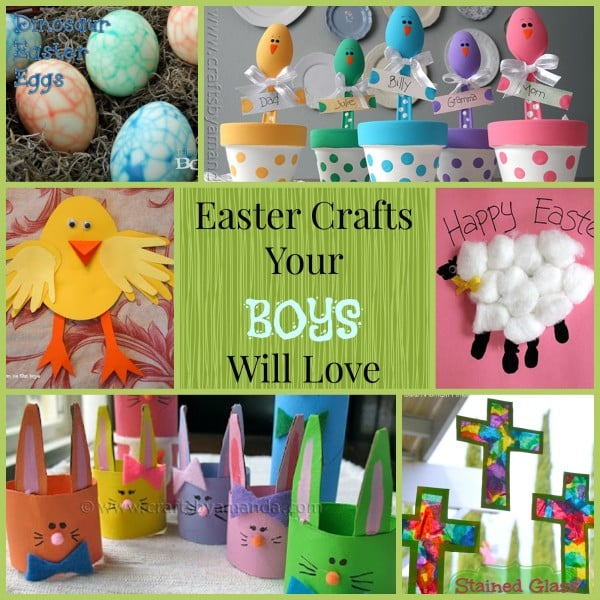 Easter Crafts Your Boys Will Love   Mom vs the Boys kS2mtNhQ