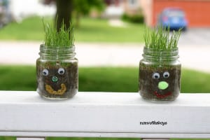 Hairy – Spring gardening craft