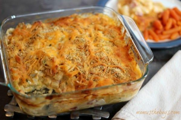 ham and cheese potato casserole