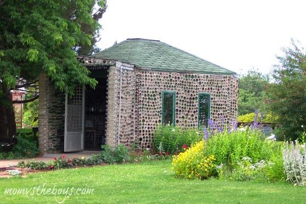 tavern glass bottle house