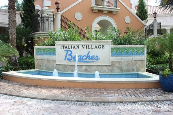 beaches resorts italian village