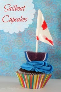 Sail away with me… Sailboat Cupcakes