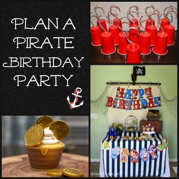 pirate party collage