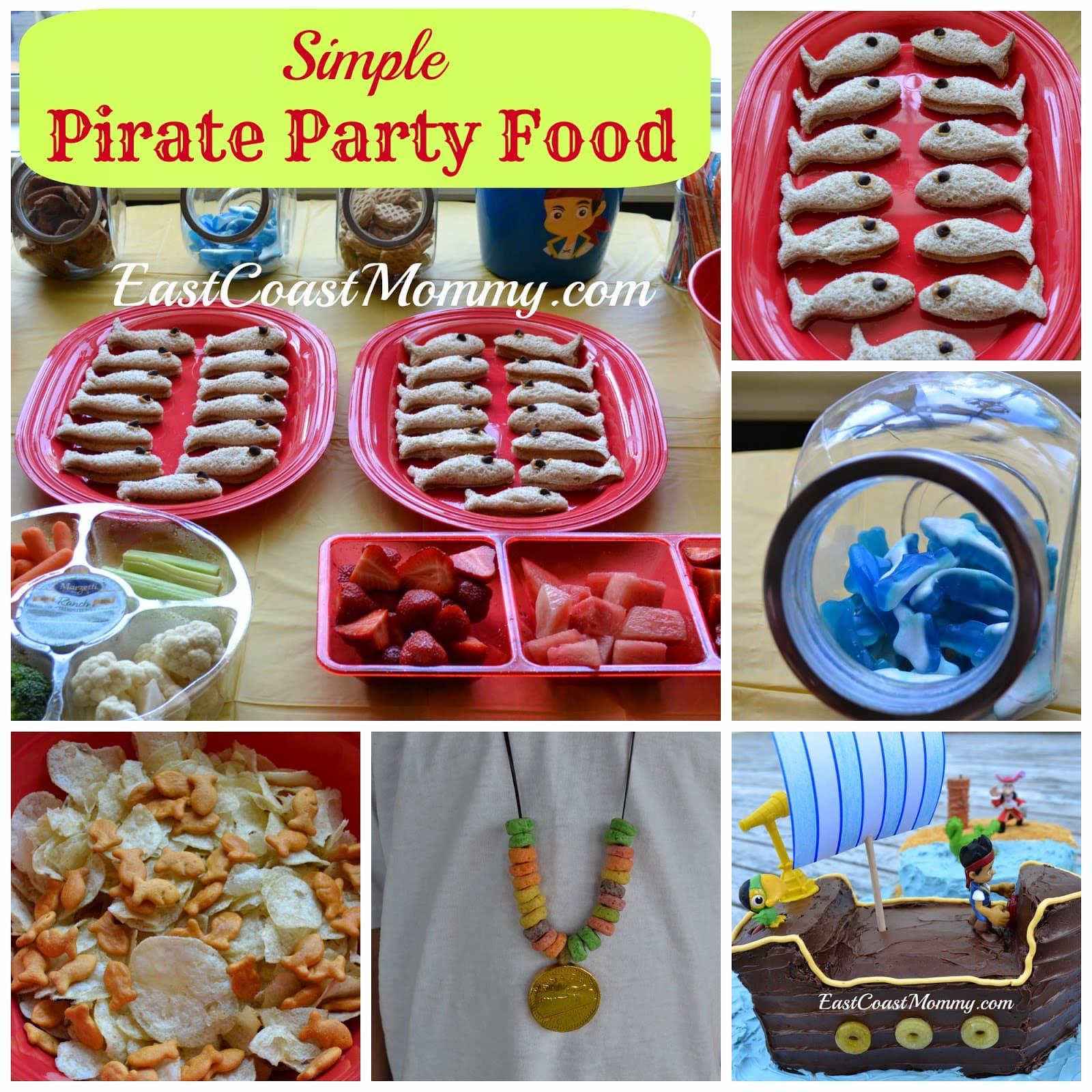 Jake And The Neverland Pirates Birthday Cake Decorations