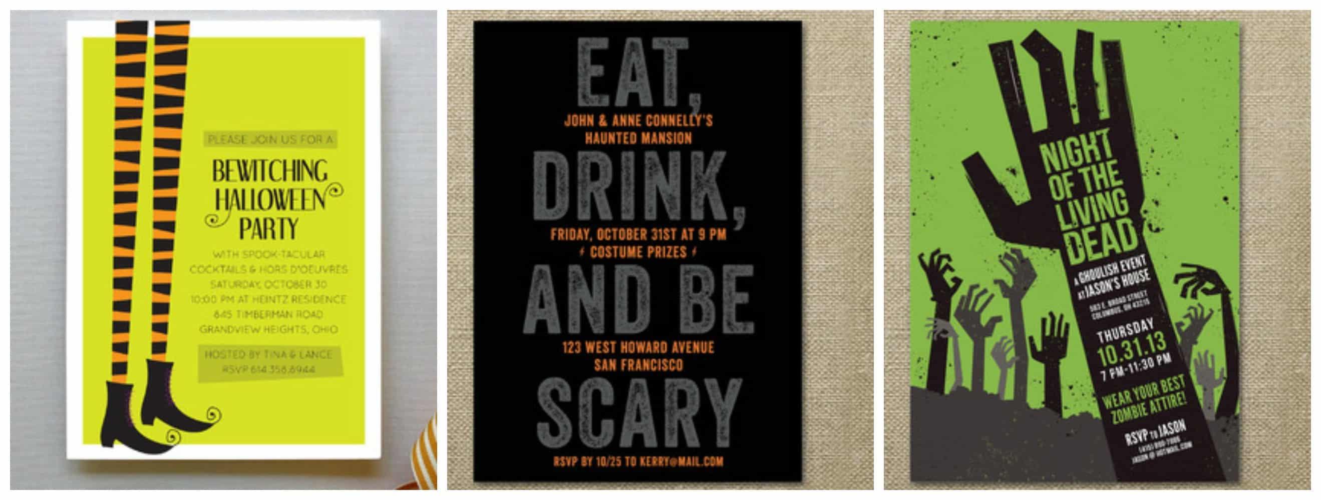 Celebrating Halloween with Minted.com - Mom vs the Boys