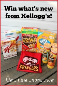 New from Kellogg's this Fall {Giveaway} #KelloggCAInnovations