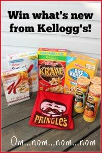 Kelloggs giveaway