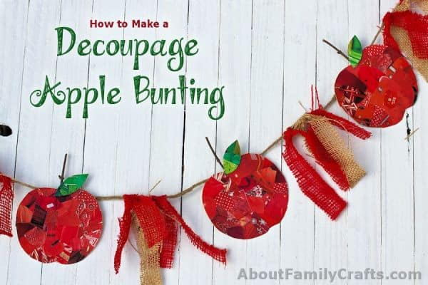 Craft-Challenge-Decoupage-Apple-Bunting