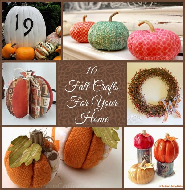 Fall Craft Collage
