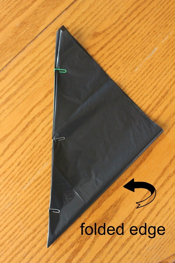 bag pinned arrow