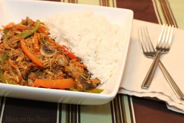 Blue Dragon Red thai curry stir fry turkey