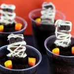 Coffee Crisp Mummies in a Graveyard