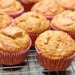 Whole Wheat Pumpkin Spice Muffins