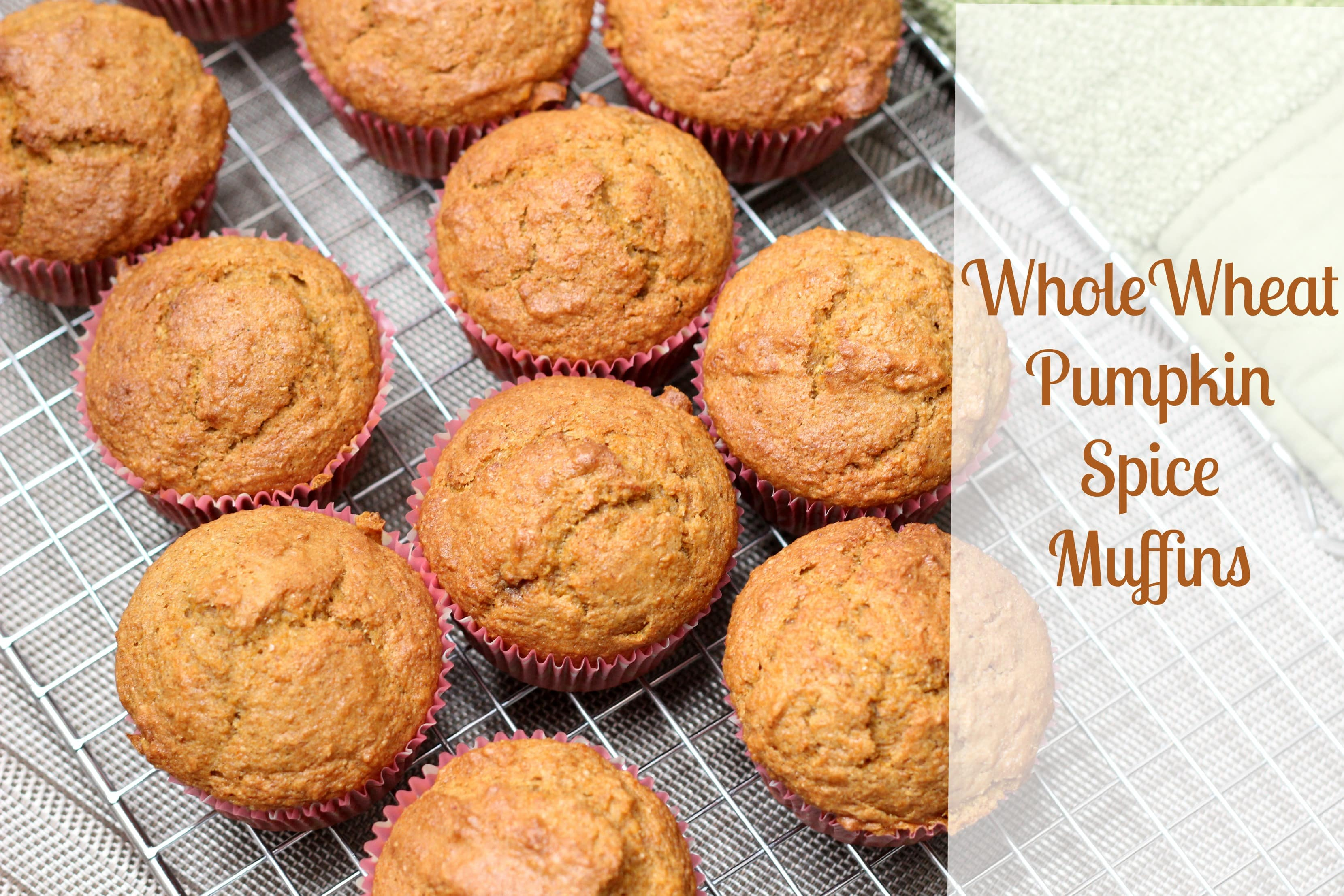 Whole Wheat Pumpkin Spice Latte Muffins Recipe — Dishmaps