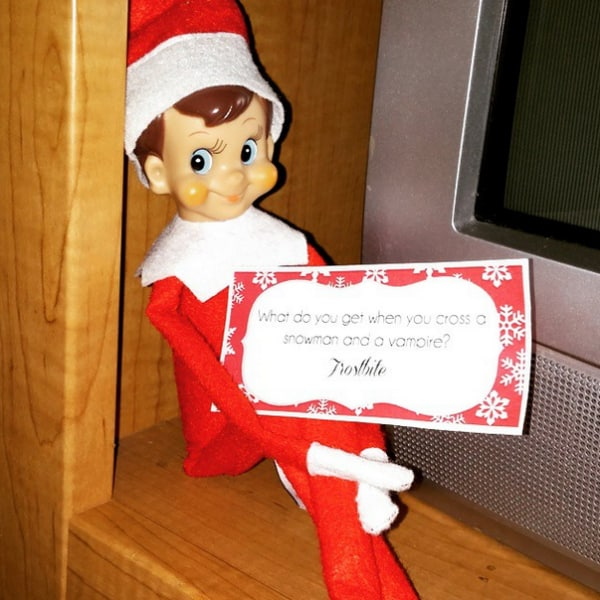 elf on the shelf joke