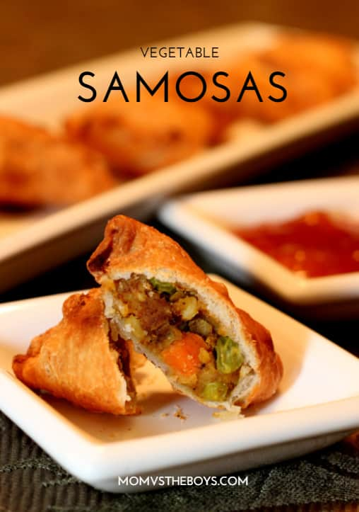Homemade Vegetable Samosas. Homemade Vegetable Samosas   Mom vs the Boys