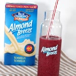 very berry almond smoothie