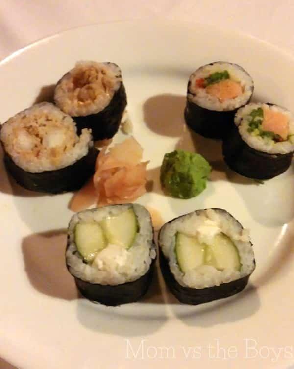 kimonos food