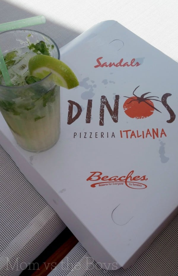 pizza and mojito beaches negril