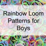 rainbow loom patterns for boys