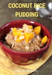 Coconut Rice Pudding #loveyourcoconut