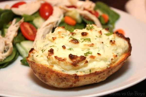 skinny twice baked potato