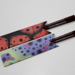 origami chopstick wrapper - 2 ways